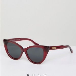 Sonix Kyoto cat eye Sunglasses